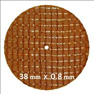 Discuri texturate A  38 x 0.8 mm